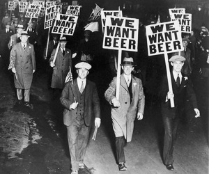 Prohibition Beer Picketers